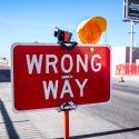 percorso sbagliato